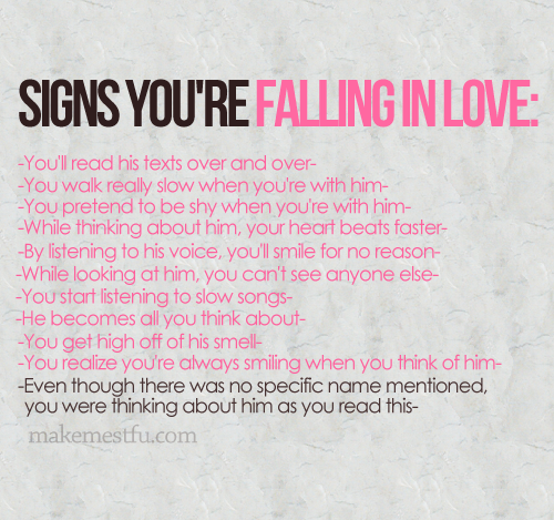 Falling in l'amour <3