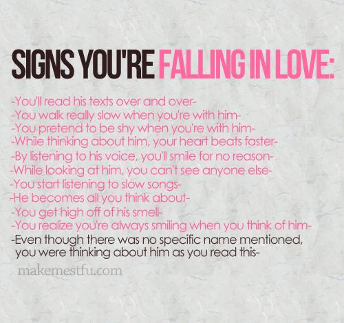 Falling in amor <3
