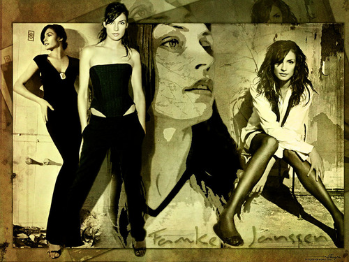 Famke Janssen - actresses Wallpaper