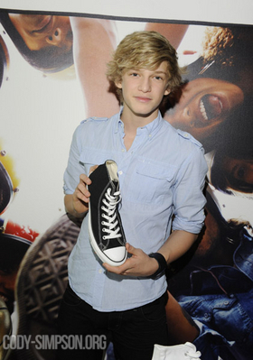 Cody Simpson wallpaper titled February 19th - Converse Gifting Suite All Star Weekend - Day 2