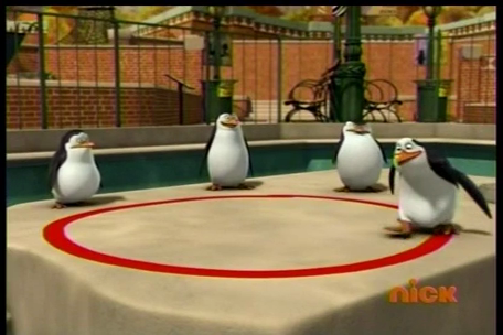 Follow the line Kowalski