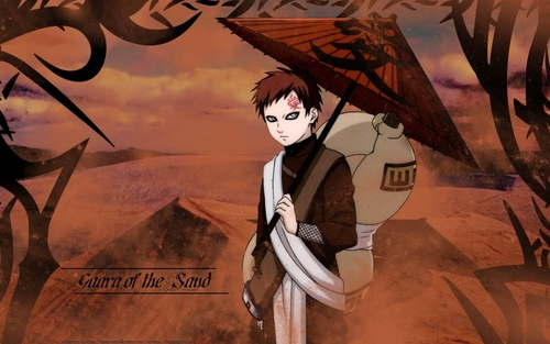 Gaara of Suna wallpaper with anime entitled Gaara