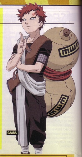 Gaara of Suna wallpaper containing anime called Gaara