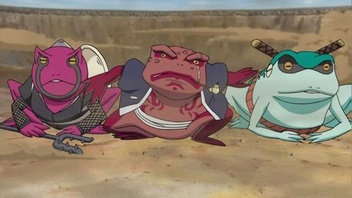 Gamabunta, Gamaken and Gamahiro