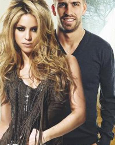 Gerard Piqué in the shadow of Shakira?