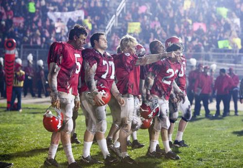 Glee Football Team (Thriller)
