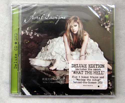 Goodbye lullaby Deluxe Edition Closer Look Front and Back