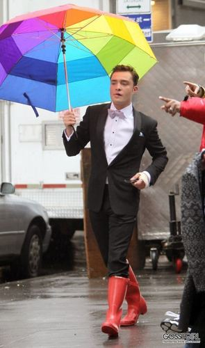 Gossip Girl - BTS Set foto - 28th February 2011