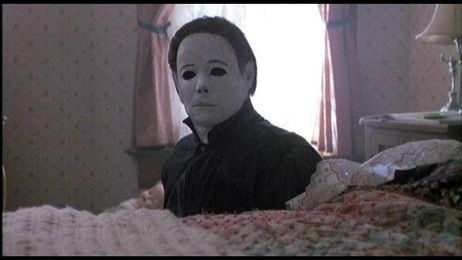Michael Myers wallpaper probably with a sign titled Halloween movies