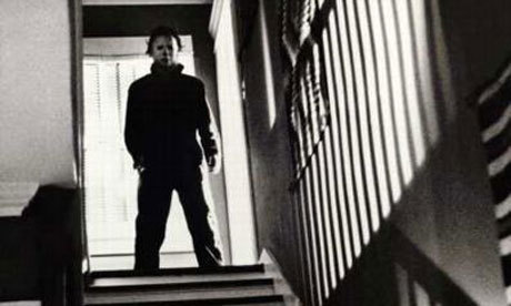 Michael Myers kertas dinding called Halloween Filem