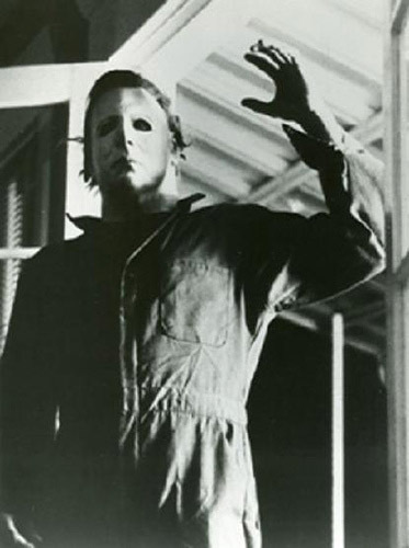 Michael Myers fond d'écran with an outerwear called Halloween films