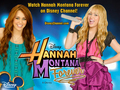 Hannah Montana Forever Exclusive DISNEY BEST OF BOTH WORLDS پیپر وال سے طرف کی dj!!!