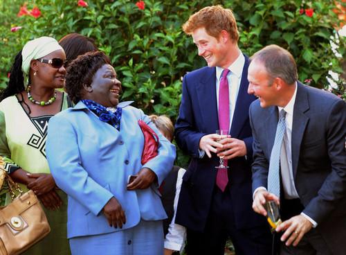 Harry Visit Botswana