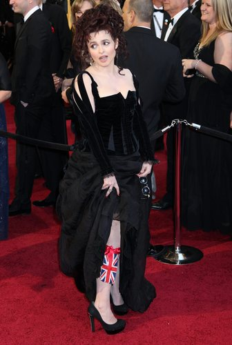 Helena Bonham Carter@The Academy Awards