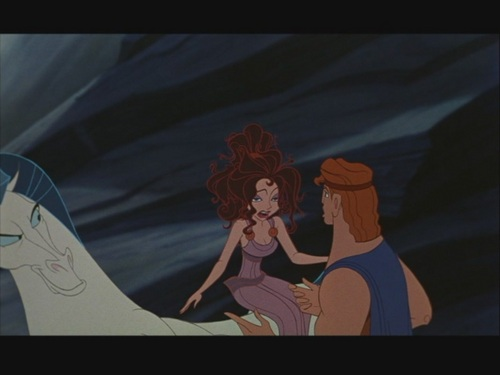 "Disney Couples wallpaper possibly with anime called Hercules and Megara (Meg) in ""Hercules"""