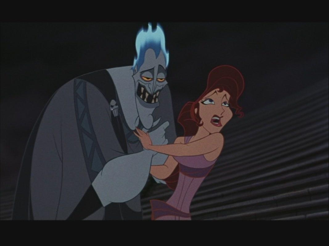 Hercules And Megara Meg In Hercules Parejas De Disney