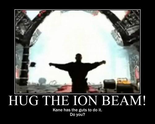 Hug the Ion beam