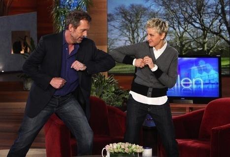 Hugh on Ellen 2/28/2011