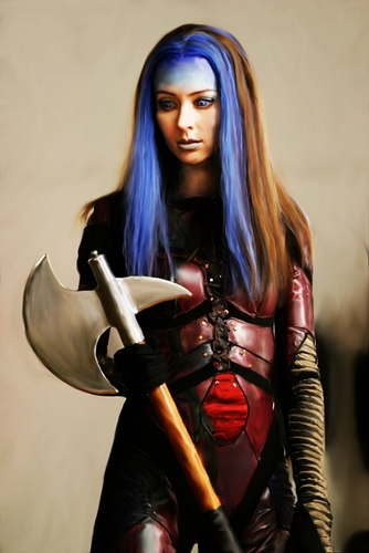 Illyria wallpaper possibly with a breastplate and a hip boot titled Illyria