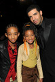 Jaden and Willow with Drake
