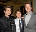 "January 6th: ""The Social Network"" Blu-Ray & DVD Launch - After Party - andrew-garfield-and-jesse-eisenberg photo"