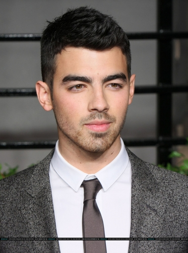 Joe Jonas Vanity Fair Oscar Party Pair