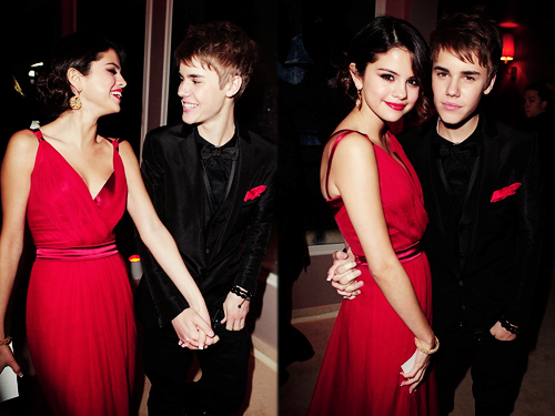 Justin Beiber & Selena Gomez Attend Vanity Fair Oscars 2gether 100% Real :) x
