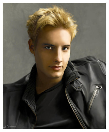 Justin Hartley Digital Painting