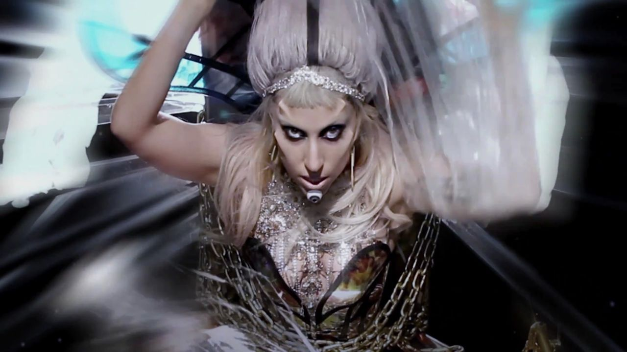 Lady gaga poker born this way video