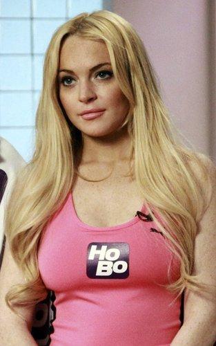 "Lindsay Lohan in ""Hottie Body Humpilates"""