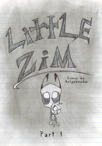 Little Zim book cover