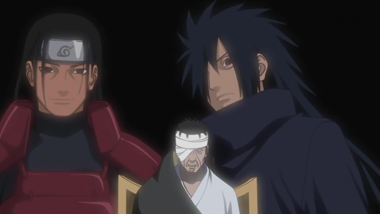 Madara, Danzo and  Senju