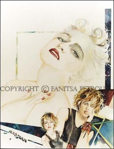 Madonna tagahanga Art