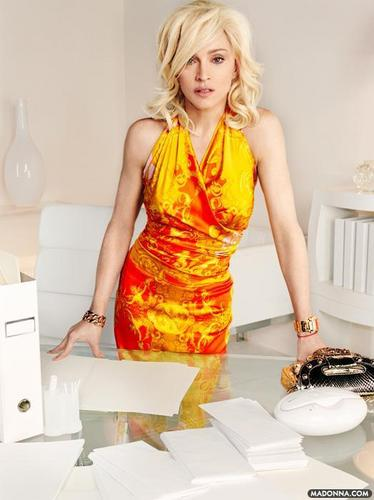 "Madonna ""Versace Campaign"""