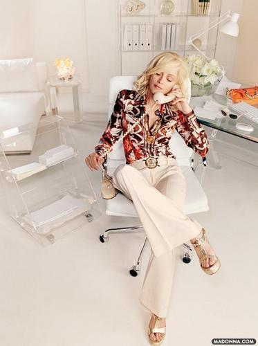 """ম্যাডোনা """"Versace Campaign"""""""
