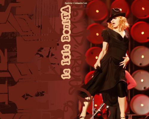 Madonna mga wolpeyper