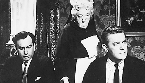 "Margaret Rutherford, pagganap in ""Murder, She Said"" (1961)"