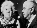 Margaret Rutherford as Miss Marple and Stringer Davis as Mr. Stringer in