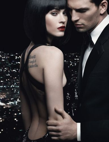 Megan fox, mbweha ~ Armani Code For Women Photoshoot