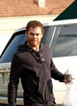 Michael C Hall at Cafe