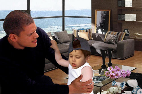 Michael Scofield is angry with his son MJ