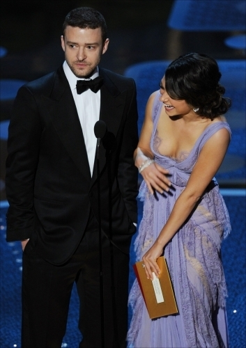 Mila Presenting @ 2011 Academy Awards