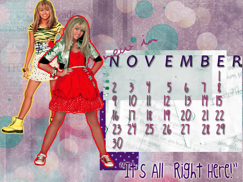 Miley exclusive calenders!
