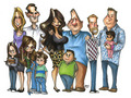 Modern Family Cartoon