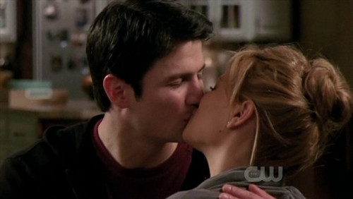 Naley wallpaper possibly containing a portrait entitled Naley season 8! : )