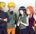 Naruhina and Minato and Kushina