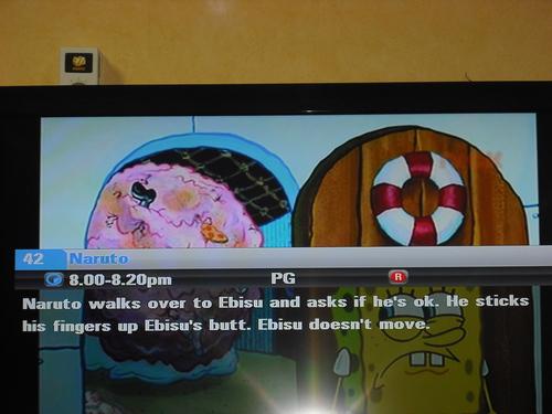 Naruto on TV FAIL!!