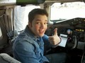 Nathan in a plane - nathan-kress photo