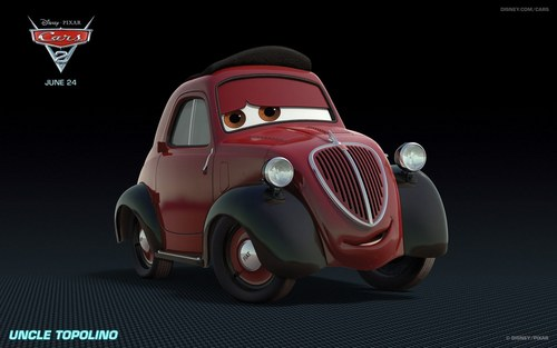"""New characters from """"Cars 2"""""""