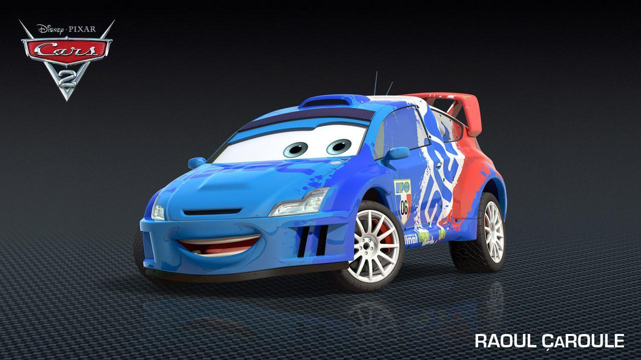 "New characters from ""Cars 2"""